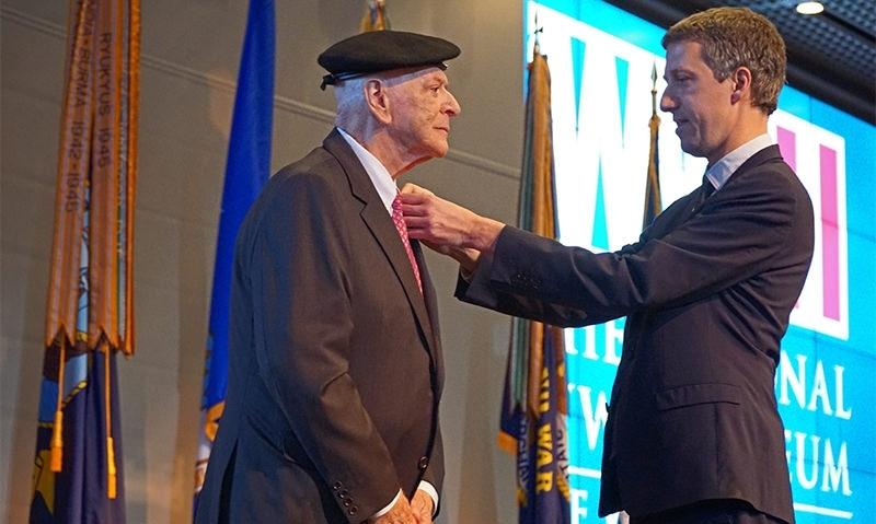 PNC Detweiler receives French Order of Merit