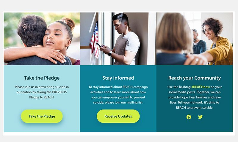 White House, VA launch call to action to engage nation in preventing suicide