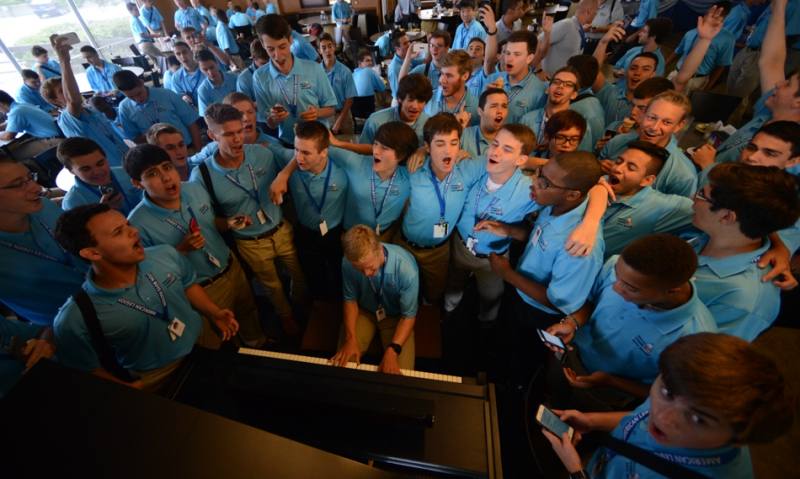 Boys Nation Class of 2015 arrives in D.C. Friday