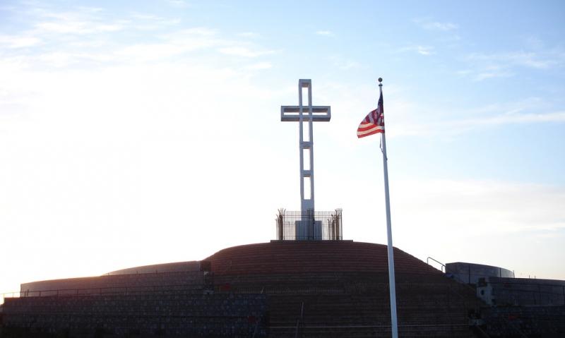Legion praises Mt. Soledad Memorial Association for saving cross