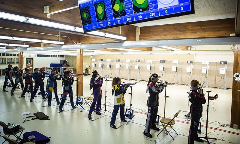 16 air rifle youth advanced to final round of competition