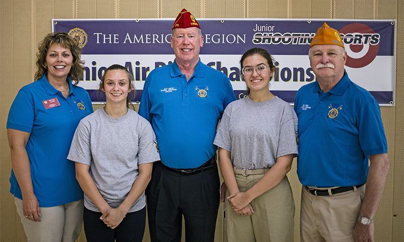 Texas, Tennessee youth named Legion air rifle champions