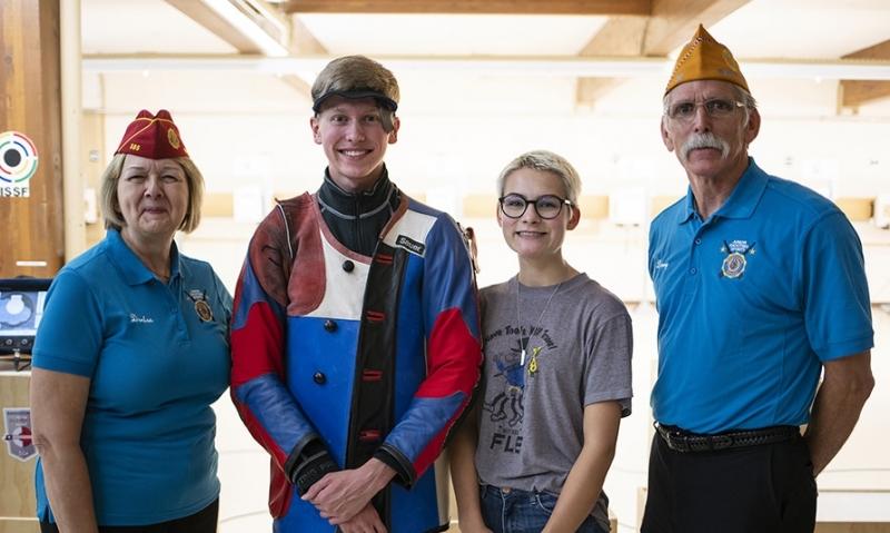 Georgia, Illinois marksmen win first Legion national titles