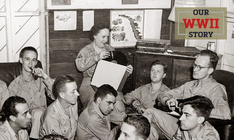 OUR WWII STORY: Music for the troops