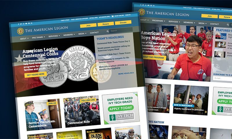 Legion website has record-breaking month
