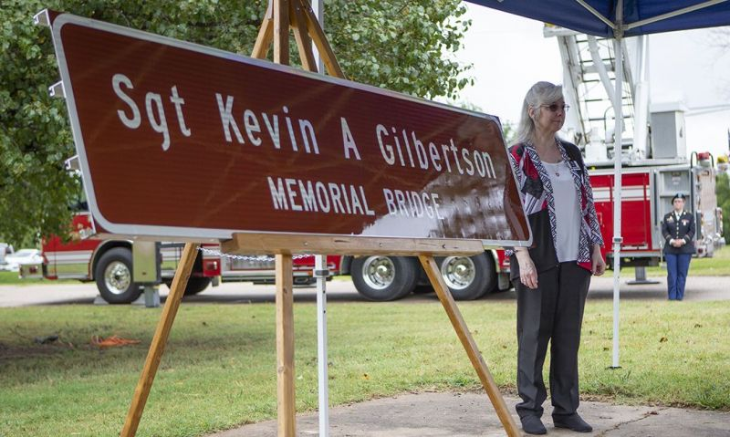 Kansas Legion Family turns out to honor fallen comrade