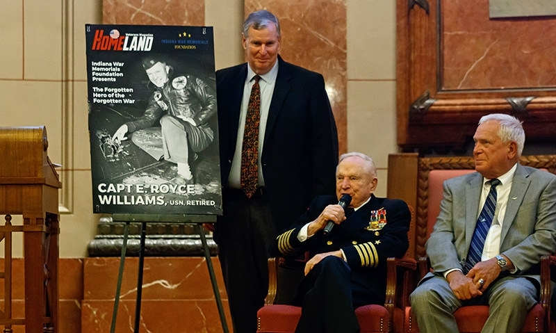 'Forgotten hero' of Korean War shares his story in Indianapolis