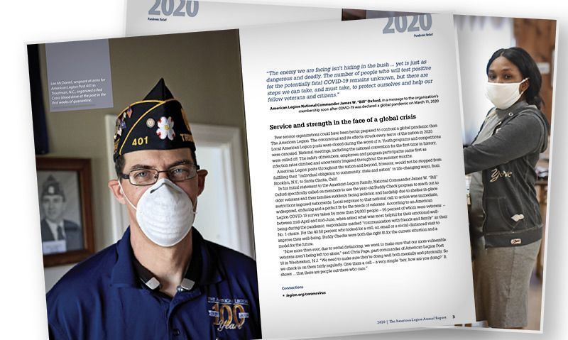2020 Annual Report: pandemic relief, youth support and family fun