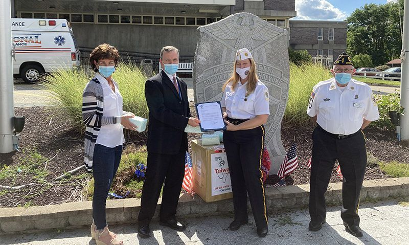 American Legion donates 10,000 masks to Soldiers' Home ravaged by COVID-19
