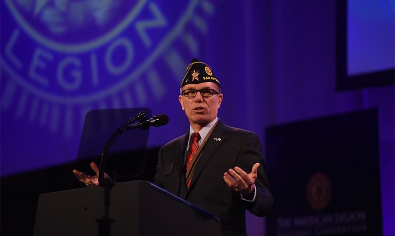 USAA director talks about the power of dedication | The American Legion