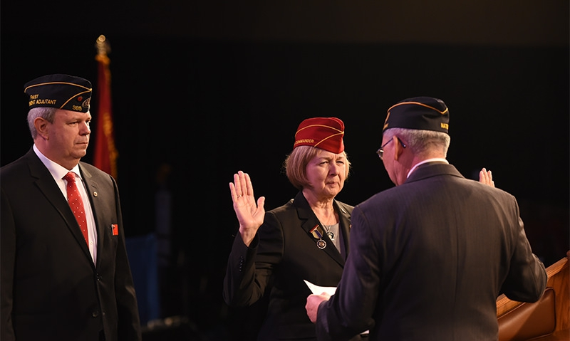 New national commander: 'Are you ready?'