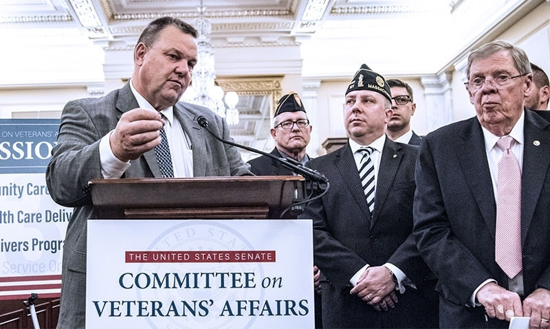 VA MISSION Act heads to the president's desk