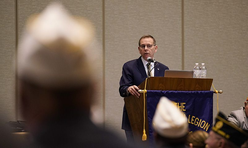 Legion briefed on 'exciting time' for VA