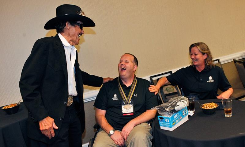 NASCAR legend Richard Petty receives Legion 'Good Guy' Award