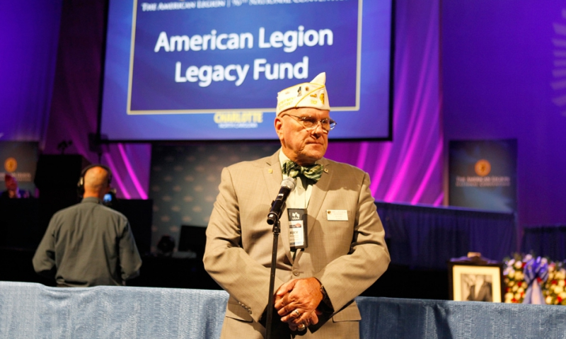 Longtime Illinois adjutant, Legion Rider passes away