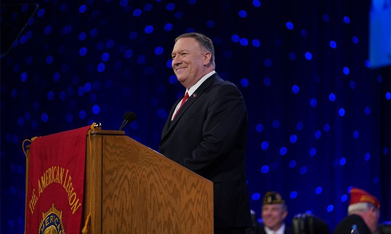 Pompeo: Americanism means recognizing America as 'an exceptional nation'