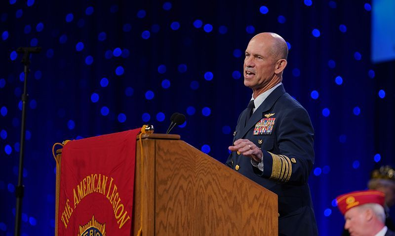 'You made a difference in the lives of ... Coast Guard families'
