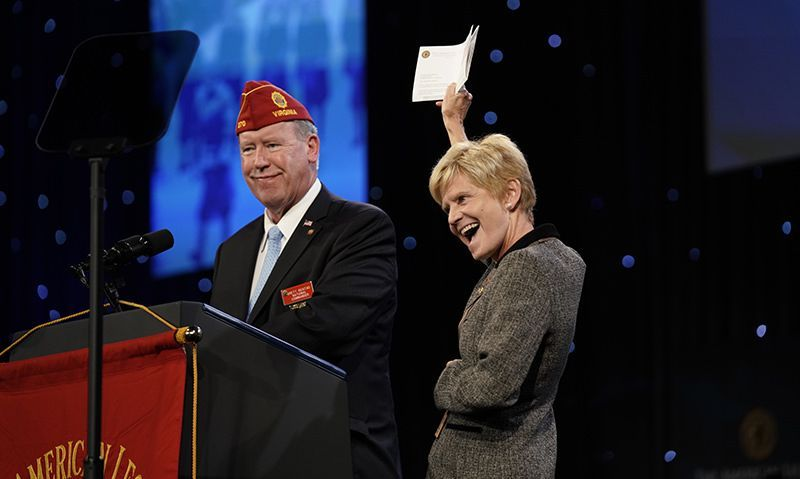 Raising the visibility of women veterans