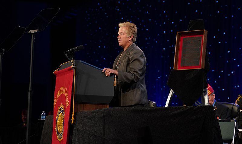Anderson wins Legion law enforcement award