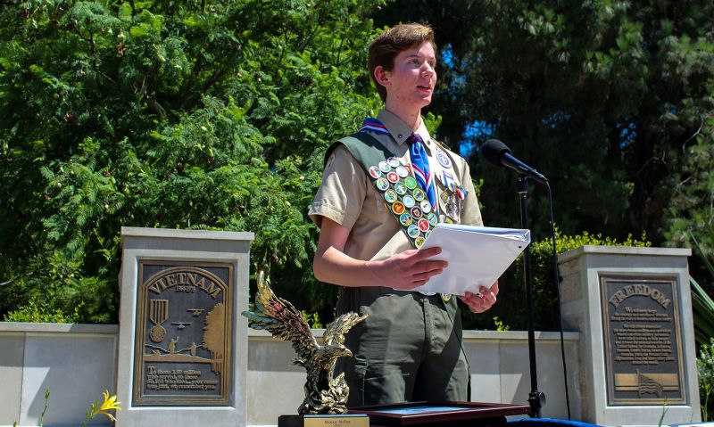 Eagle Scout of the Year: department application deadline is March 1