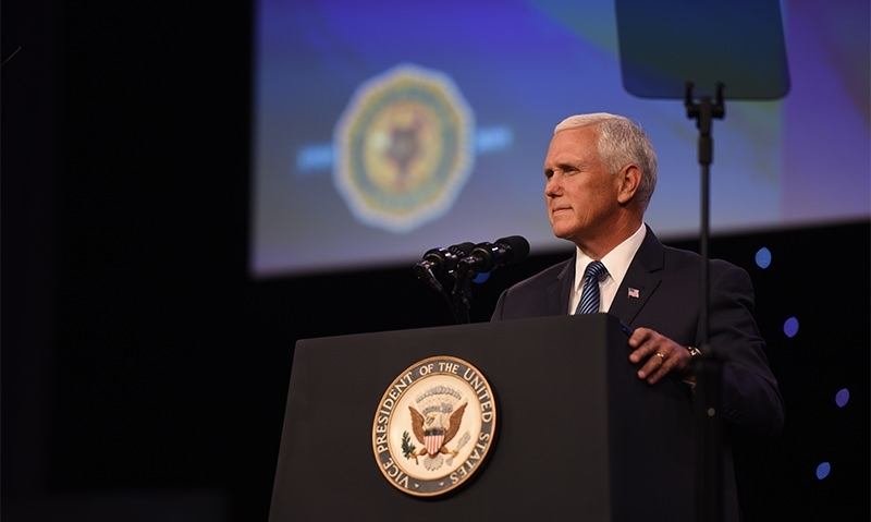 Pence vows to continue improving veterans' care