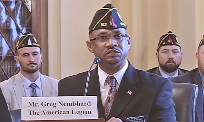 American Legion Assistant Director testifies on veterans' burial rights
