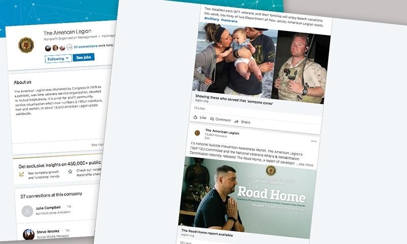 Legion's LinkedIn page achieves milestone