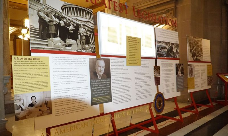 Visit the Legion's GI Bill exhibit in Tennessee
