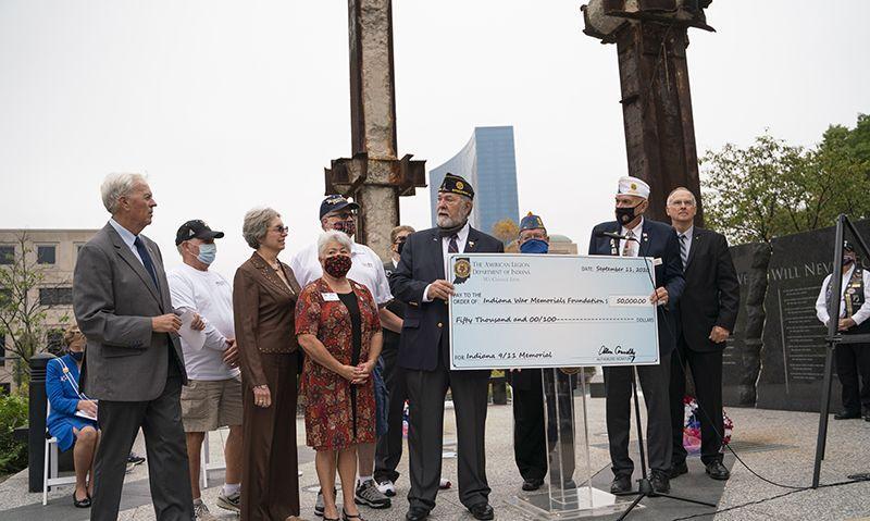 Hoosier Legion Family ensuring memory of 9/11 'will never die'