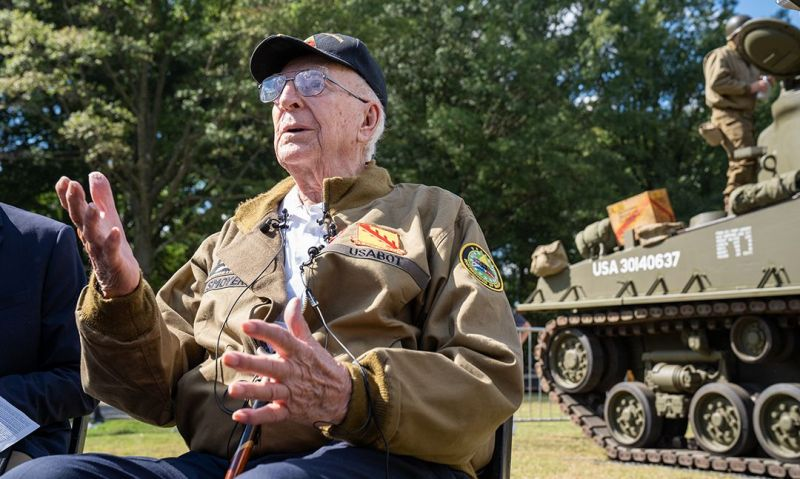 Legionnaire and World War II 'Hero of Cologne' awarded Bronze Star