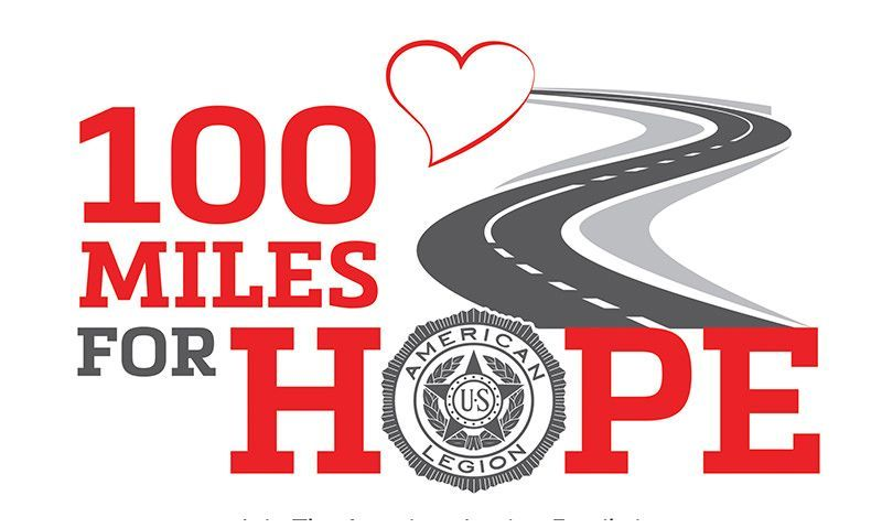 100 miles campaign raises donations, spirits for veterans, military families