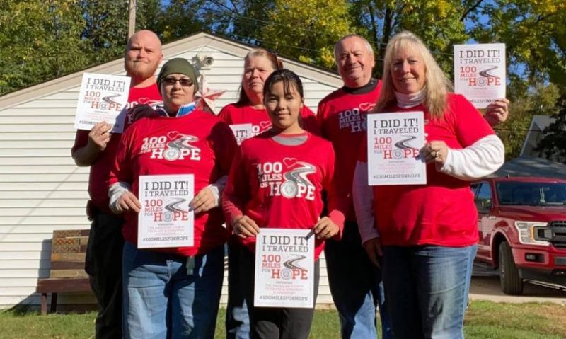 100 Miles for Hope serves as catalyst for ex-smoker