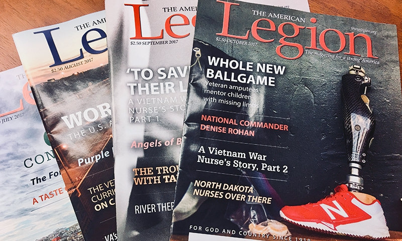 Legion magazine remains best-read