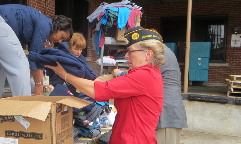 OCW donation paves way for clothes closet for homeless veterans