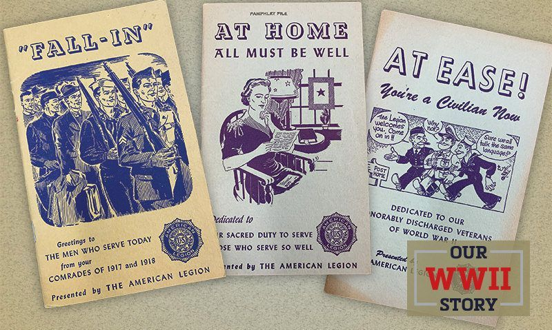 OUR WWII STORY: Legion distributed booklets to inform, inspire the troops