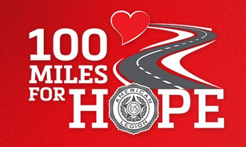 Walk, run, bike or ride 100 miles for veterans and children