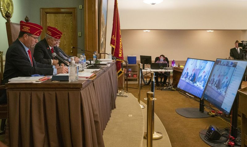 How American Legion departments and posts comply with Resolution 35