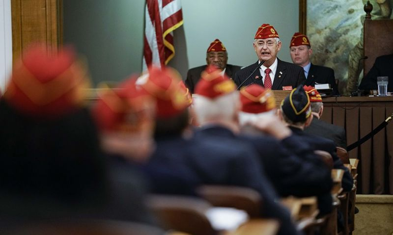National commander addresses current and upcoming fundraising efforts