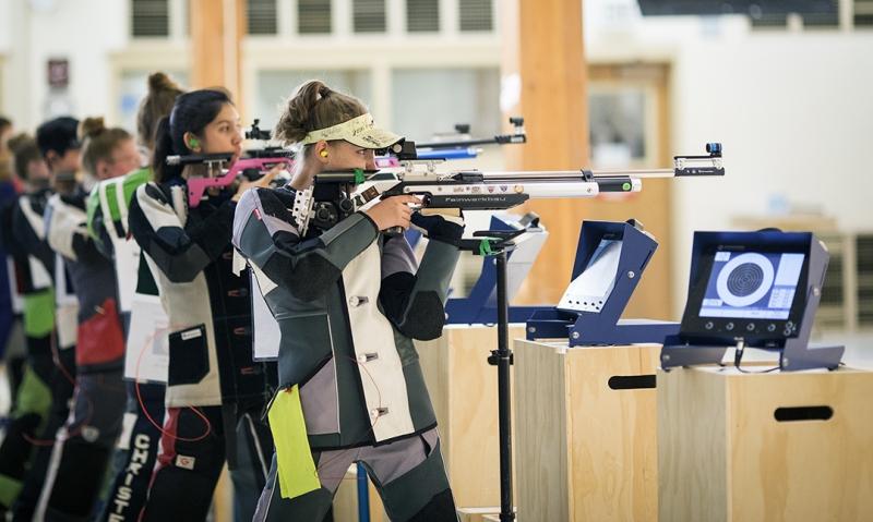 2017-2018 Junior Shooting Sports tournament underway
