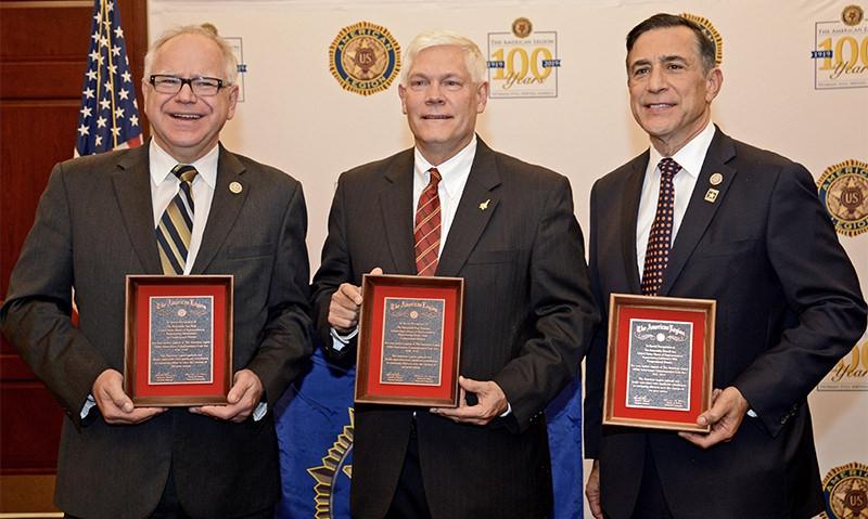 Legion celebrates passage of commemorative coin bill