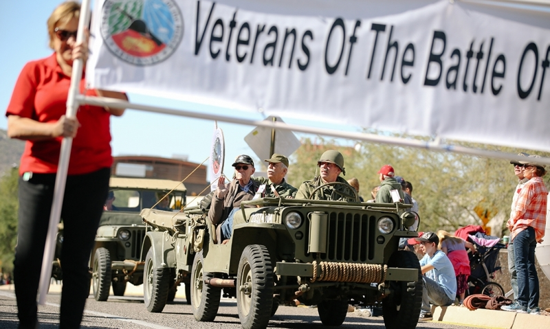 Tucson honors veterans with 99th annual parade