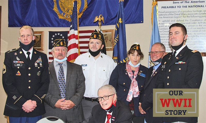 OUR WWII STORY: Legionnaires secure medals for World War II veteran