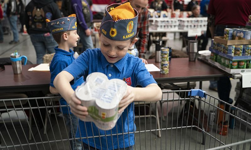 Legion Family fills bellies, warms hearts at Fort Riley