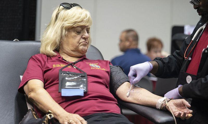 2019 Legion holiday blood drive underway