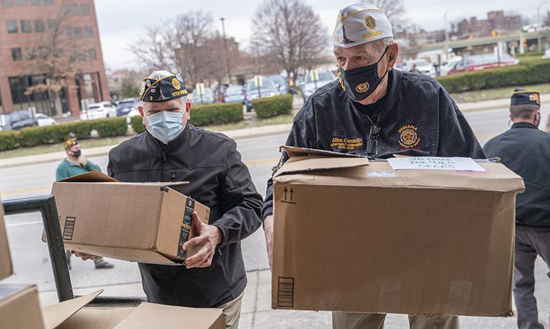 150 winter kits will aid homeless veterans in Indiana