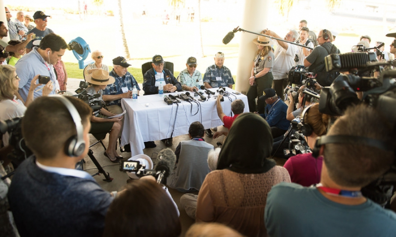 Four USS Arizona survivors share their memories