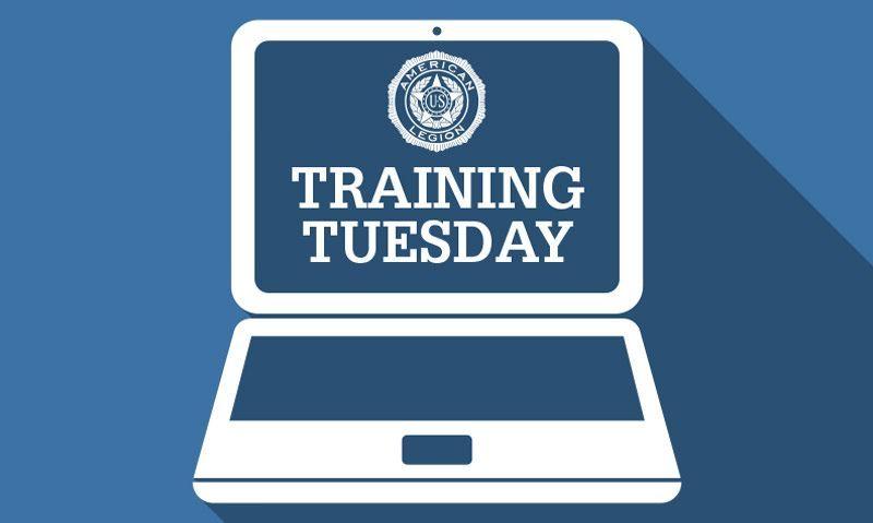 Training Tuesday December 29: American Legion assistance programs
