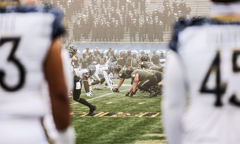 Army's defense keys victory over Navy