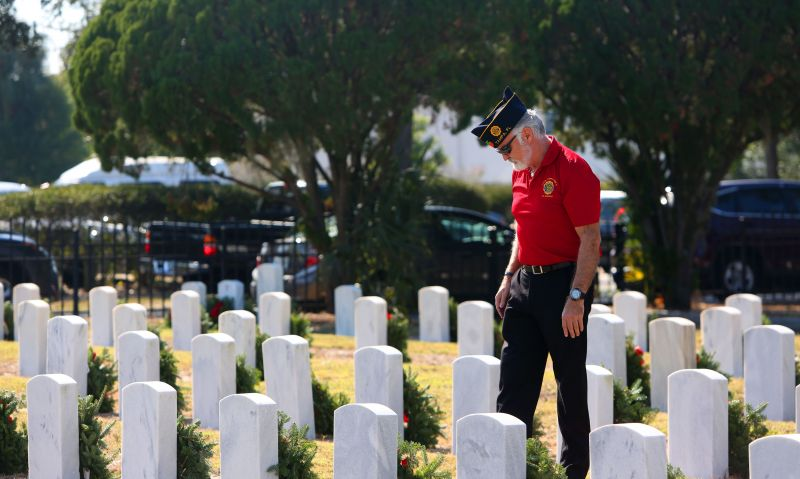 Legion Family honoring veterans through Wreaths Across America