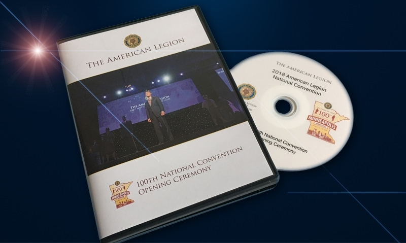 Donors to receive limited edition 100th National Convention DVDs